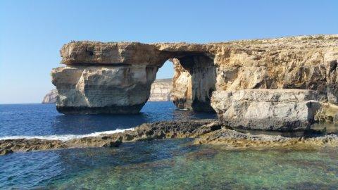 Azúr ablak Máltán